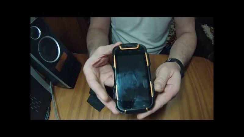 Защищённый смартфон Ginzzu RS9 Dual