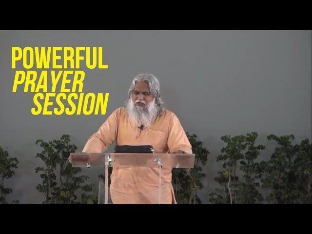 Powerful Holy Spirit Prophetic Prayer Session   Sadhu Sundar Selvaraj