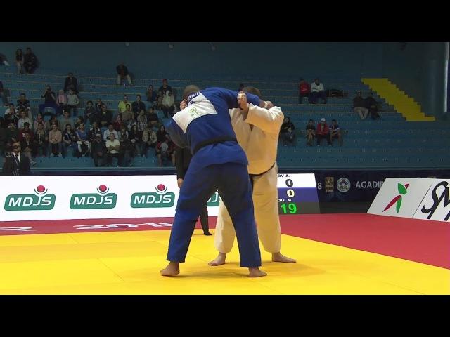 Grand-Prix Agadir 2018: KRIVOBOKOV Anton (Russia) - ABDALLAOUI Mustapha (Morocco)