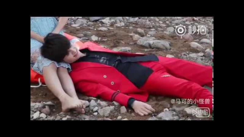 馬可《極光之戀》幕後花絮01
