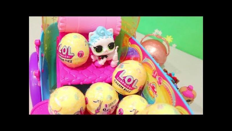 LOL Pets Série 1 Onda 1 Completando a Coleção e LOL Surpresa Fizz Balls Série 3 -Brinquedonovelinhas