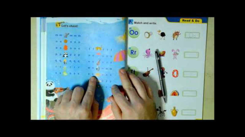 Phonics 1 Review 2 (Letters M, N, O, P, Q, R, S, T, U, V, W, X, Y and Z sounds) English Lesson