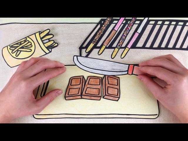 빼빼로 만들기 스톱모션!! 셀프키친2 [Stop Motion making Dessert] :: 셀프어쿠스틱