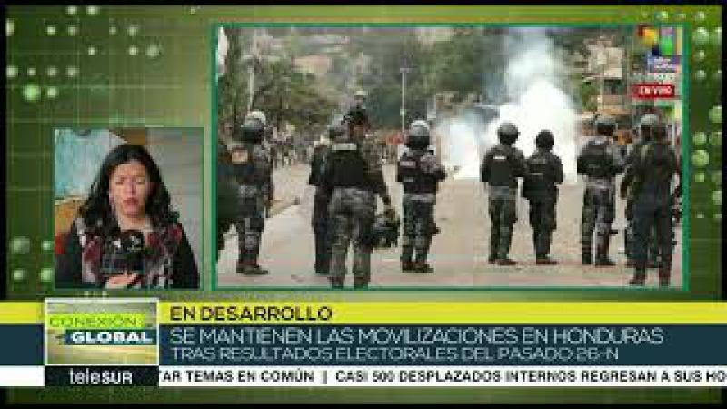 Mantiene oposición hondureña marchas contra resultado de presidencial