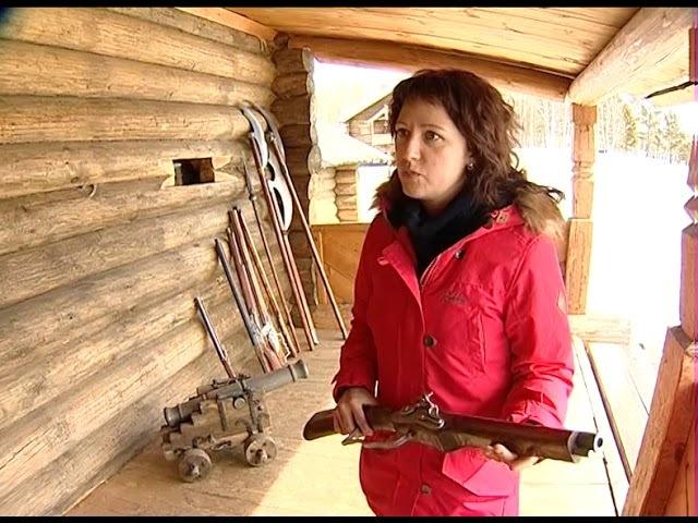 В этнографическом музее «Тальцы» воссоздают оружейный амбар Он когда то защищал Илимский острог от