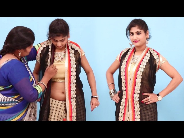 Latest Saree Draping Styles 5 Minutes Easy Party Style Saree Wearing Tutorials