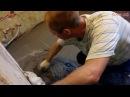 Демонтаж деревянного пола и заливка пола цементно песчаной стяжкой