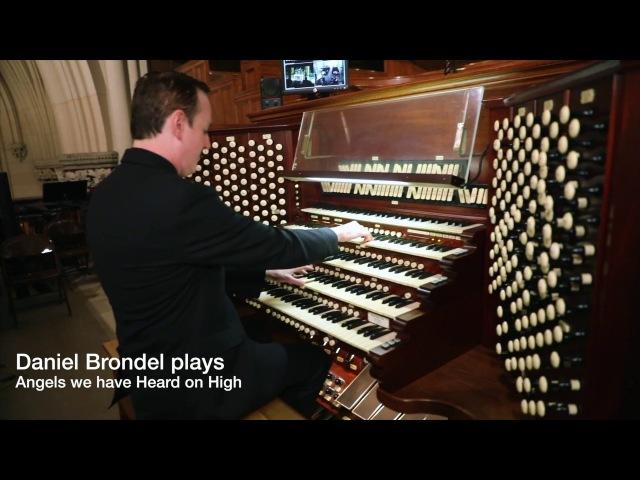 Daniel Brondel plays the Christmas Carol Angels We Have Heard on High