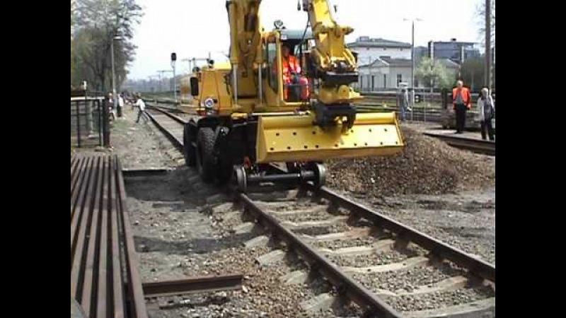 Железнодорожный экскаватор ATLAS 1604 zweiwege Крафтекс ООО