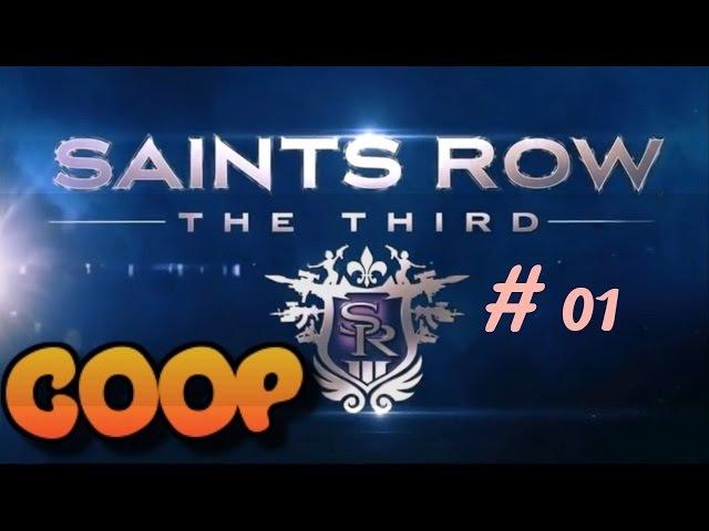 Saint Row 3 MODE HORDE (part 01) avec Steikachay
