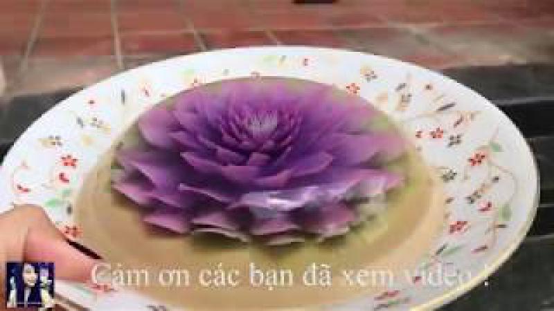Rau câu 3D   Đẹp nhất Việt Nam   Phượng Phạm   Phoenix VN   Thiên đường ẩm thực