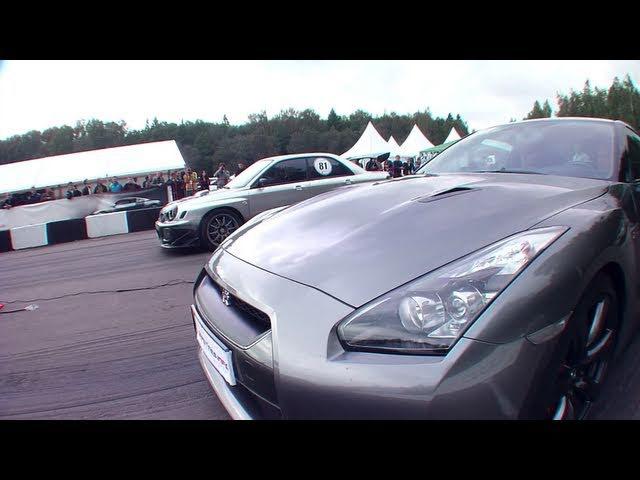 Nissan GT-R vs Subaru WRX STi
