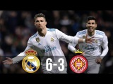 Real Madrid vs Girona 6-3 - All Goals & Extended Highlights - La Liga 18/03/2018 HD