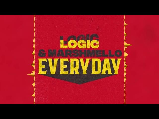 Marshmello Logic - EVERYDAY (Audio)