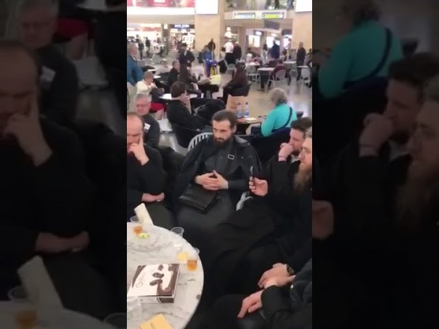 Вера Вечна в аэропорту Тель-Авив