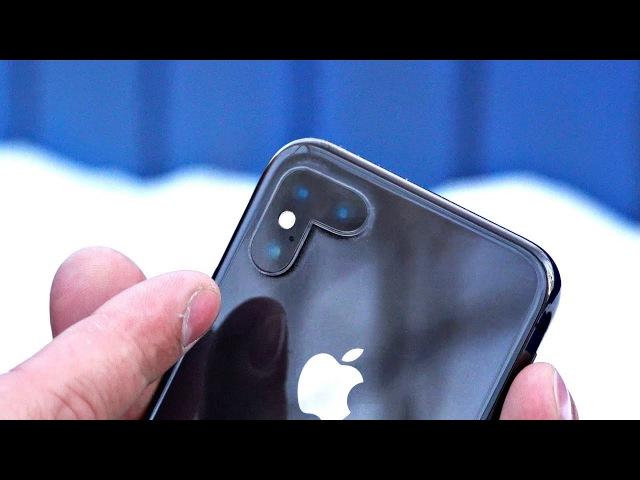 Улучшенный портретный режим iPhone X