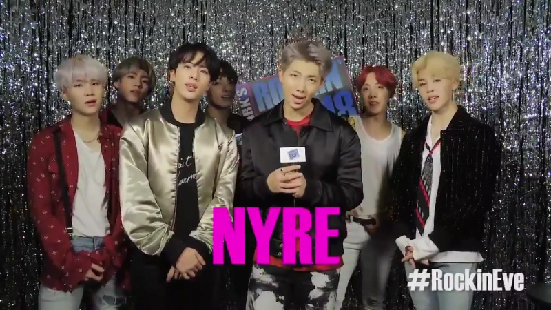 171231 Preview BTS Performance at NYRE RockinEve