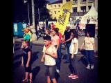 Танцевальный флешмоб на фестивале A la Carte в день города