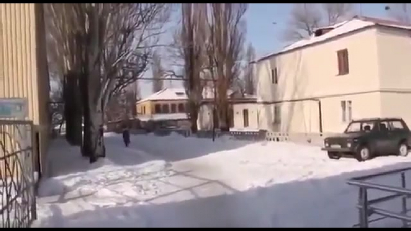 Донецк.15 января,2015.Страшный обстрел люди которые больше не бояться