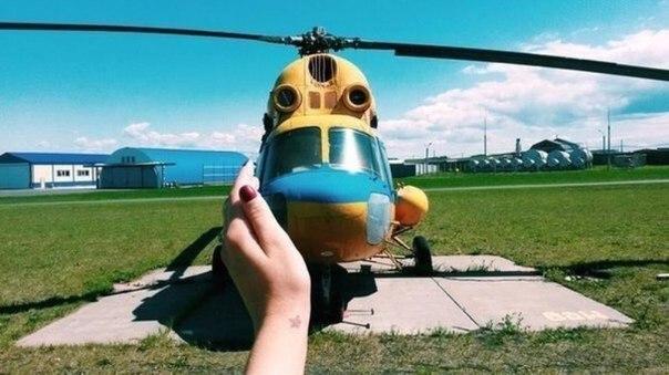 — ути мой малыш. <br>— *мурчит по-вертолётьи*