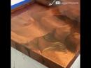 КЛАСС. Придание столешнице - перламутрового мрамора . Расцветки можно самим придумывать .