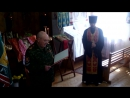 Клятва казака 26 мая 2016 года в Большереченской церкви