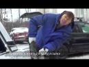 В Москве мужчина отпилил зад чужой машины, чтобы припарковаться