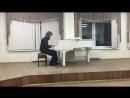 Валериан Беликов кларнет IV курс