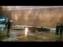 Неожиданно При смене Почётного караула у Вечного огня в Москве на Могиле Неи