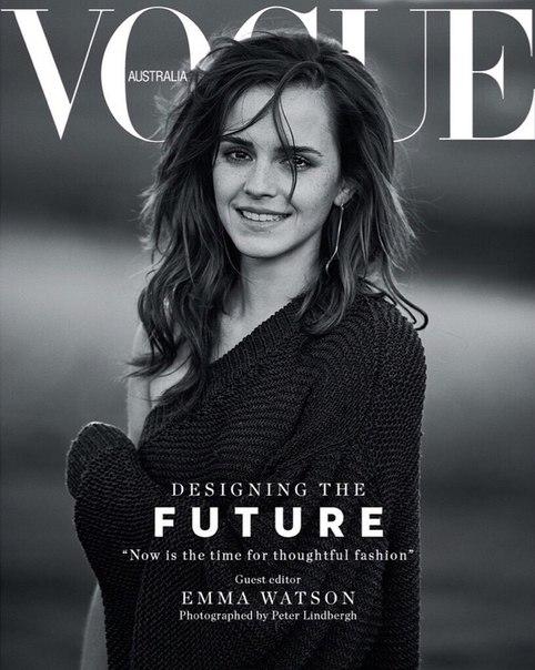 Эмма Уотсон в новой фотосессии для австралийского Vogue (Март, 2018)