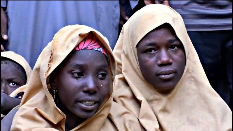 «Боко харам» отпустила 100 похищенных нигерийских школьниц.Новости от 23.03.2018