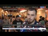 Новости на «Россия 24» • На открытии закусочной в Грозном Рамзан Кадыров лично готовил гостям бургеры