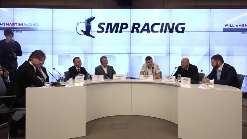 SMP RDRC на пресс-конференции SMP Racing