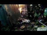 Пожар бытовки на ул. Суфтина,5_01.09.2017