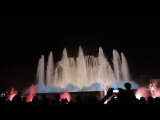 Магический фонтан (La Fuente Magica) Barselona 2017 august