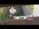 Непристойное занятие соседки в огороде zasadil net