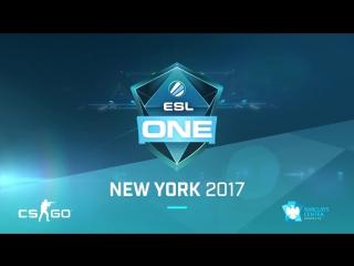 Приглашение Virtus.pro на ESL One New York 2017