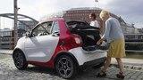 Smart Fortwo Cabrio - Red Color