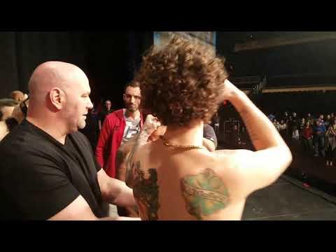 Sugar Sean UFC debut video blog 8-0 TUF Finale