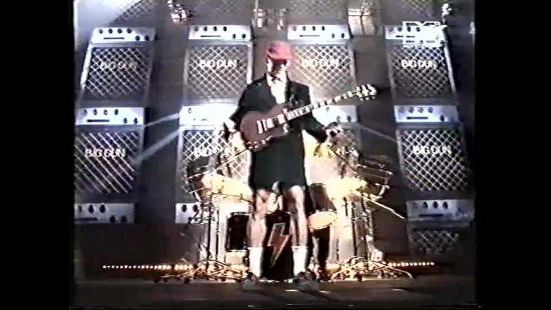 AC/DC — Big Gun (MTV HOT IN DANMARK)