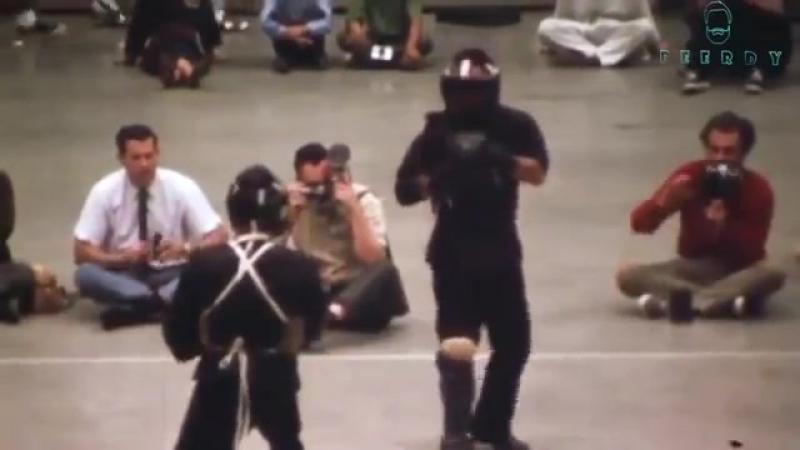 Единственная видеозапись участия Брюса Ли в реальном поединке ММА 95   БОИ БЕЗ ПРАВИЛ