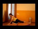 Как сделать ноги стройными за 4 минуты Калланетик