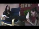 Goddess Eerika Женское доминирование вилизывание ножек Femdom Foot fetish Фут-фетиш trampling slave licking feet
