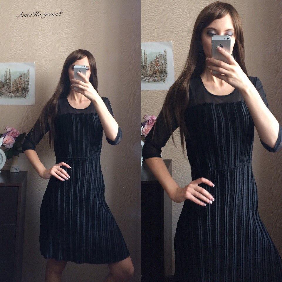 Маленькое чрное платьице от магазина YOMOKO Store