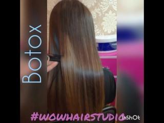 Ботокс для волос (botox) #wowhairstudio