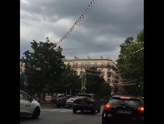 Fête nationale 🎉🎊🎆🎇 #14juillet  #fetenationale  #f... Париж 13.07.2017