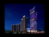 Building Facade Lighting and Decoration Design Lighting Effects Video of Guangdong Jiahe Plaza