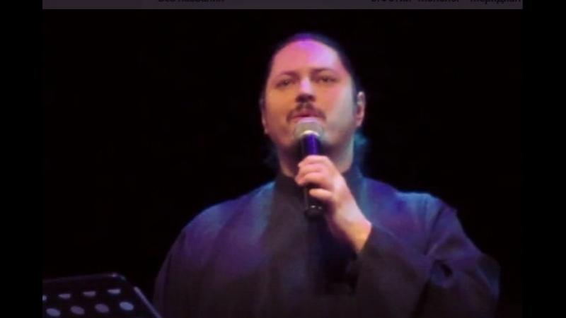 Репетиция в ДК Прожектор (перед концертом о.Фотия ) Монолог подслушен в замочную скважину