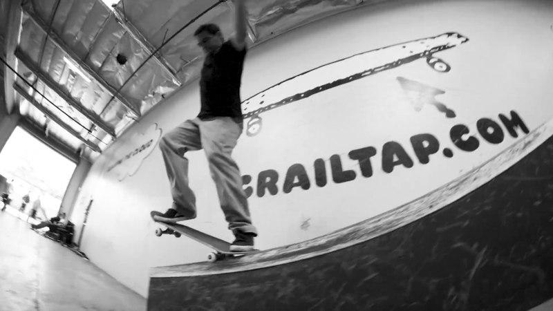Vincent Alvarez at the Crail Tap Park.
