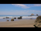 Sounds of the Pacific Ocean Beach Relax Video with Nature Sounds - 8 Hours Video